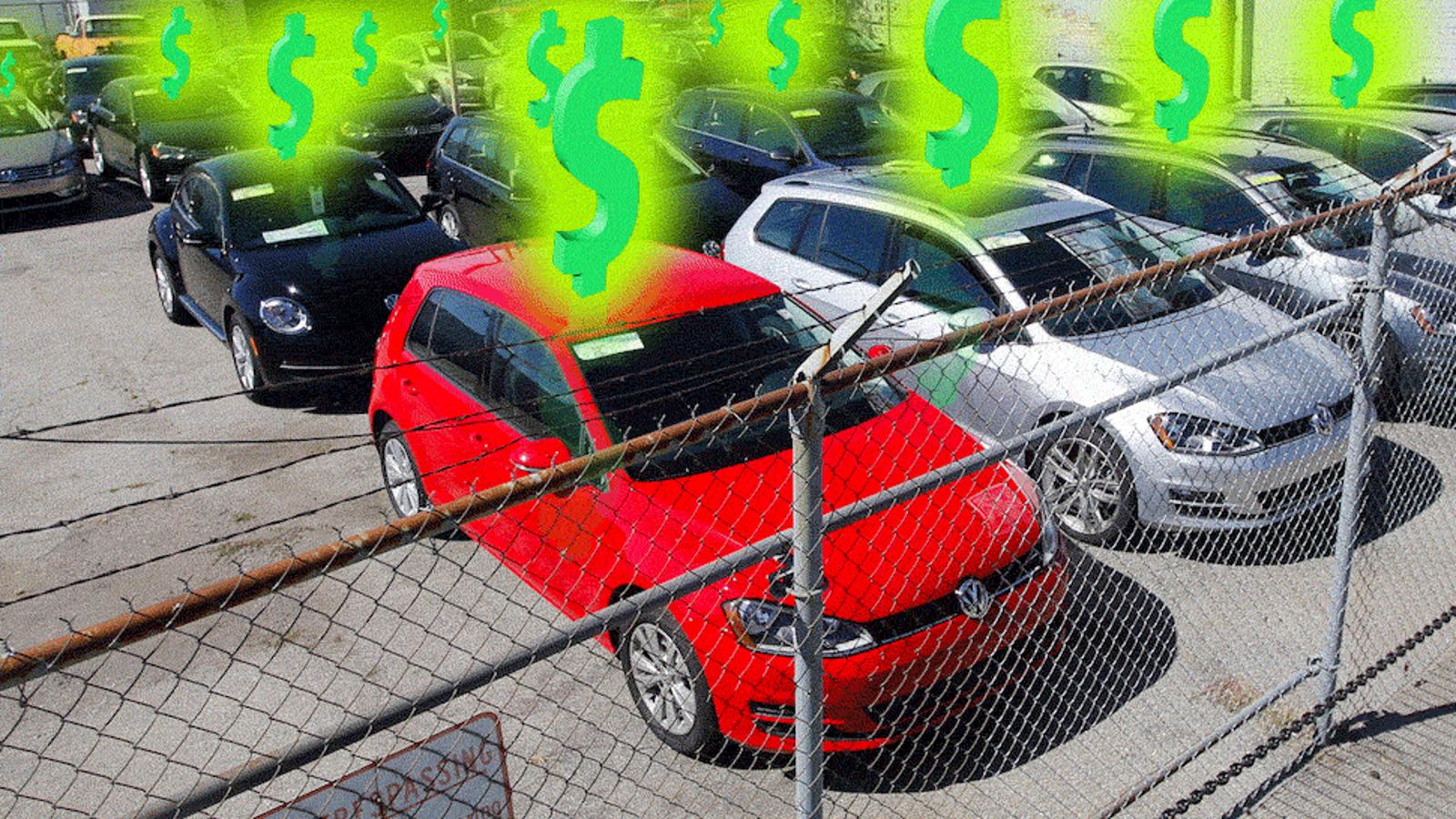 volkswagen hoarders  theyre making huge profits   diesel buyback