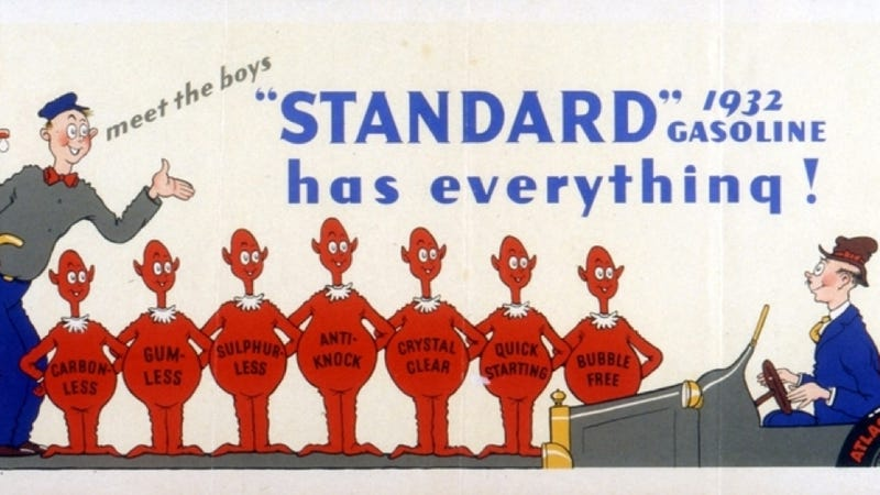 Illustration for article titled Before He Wrote Children's Books, Dr. Seuss Drew Ads For Big Oil