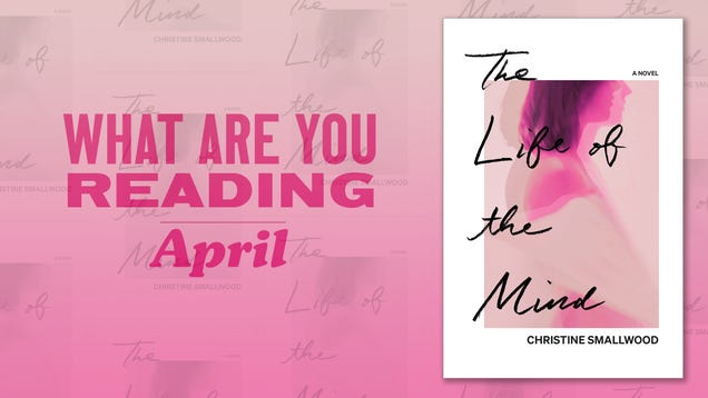 What are you reading in April?