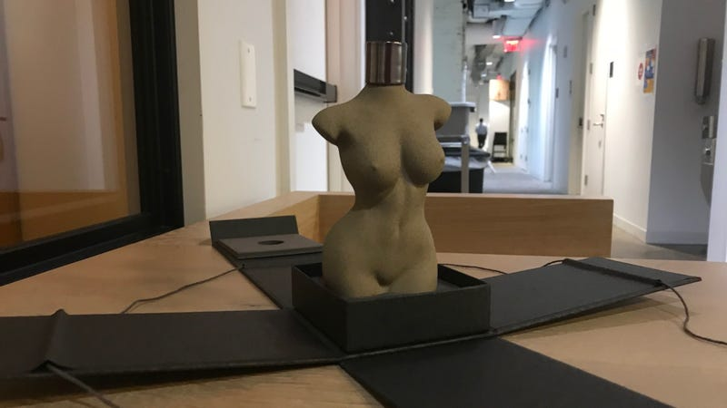 Kim K's nude bod holds court in our office
