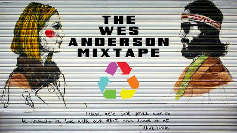 "Illustration for article titled ""The Wes Anderson Mixtape"" remixes the director as an homage to his style"