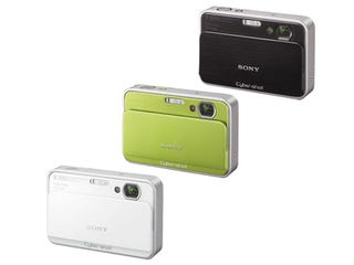 Illustration for article titled Sony Refreshes Cyber-shot T-series with 8MP DSC-T2