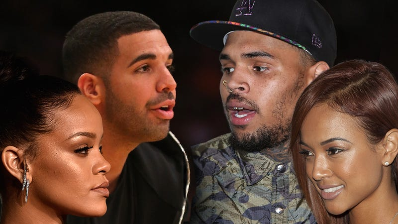 Is rihanna dating drake or chris brown