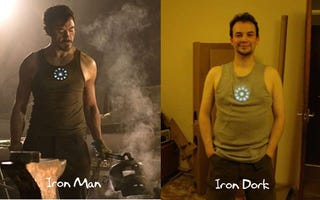 Illustration for article titled DIY Iron Man Arc Reactor Doesn't Run on Martinis