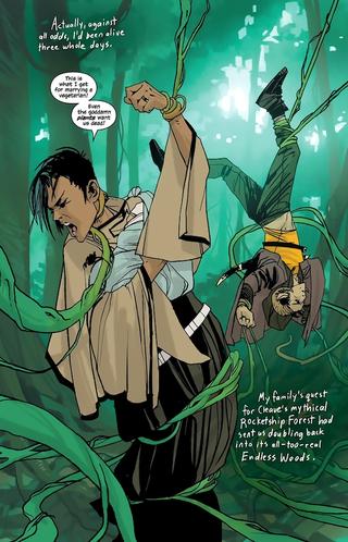 Illustration for article titled Spider Vixen Bounty Hunter A-Go-Go, or Saga #2 (Spoilers)