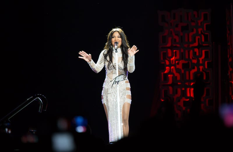Toni Braxton performs on tour in Kansas City, Mo., Oct. 14, 2016. Jason Squires/Getty Images