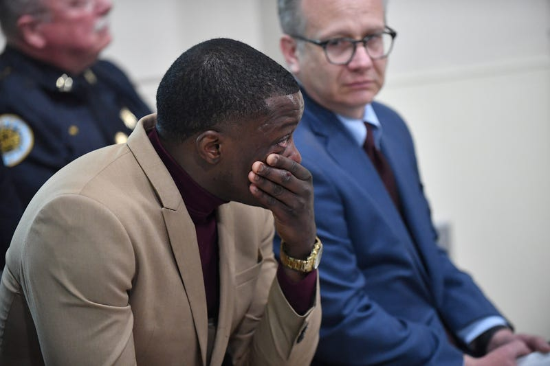 Waffle House patron James Shaw Jr. discusses the shooting at a Waffle House in which Shaw disarmed a gunman who opened fire, killing four and injuring two, at a press conference on April 22, 2018, in Nashville, Tenn.