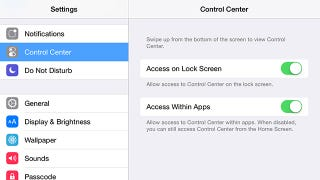 Illustration for article titled Disable the Control Center in iOS So It Stops Popping Up By Accident