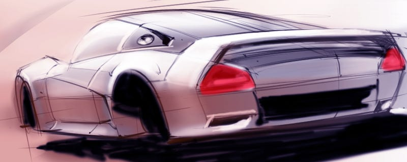 Illustration for article titled Here's a car I never got to build.