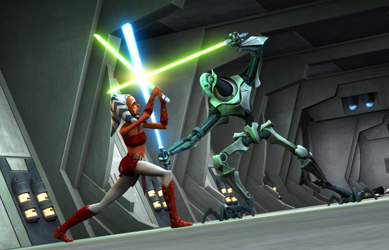 Illustration for article titled Ahsoka's fate in Star Wars: The Clone Wars probably isn't decided yet