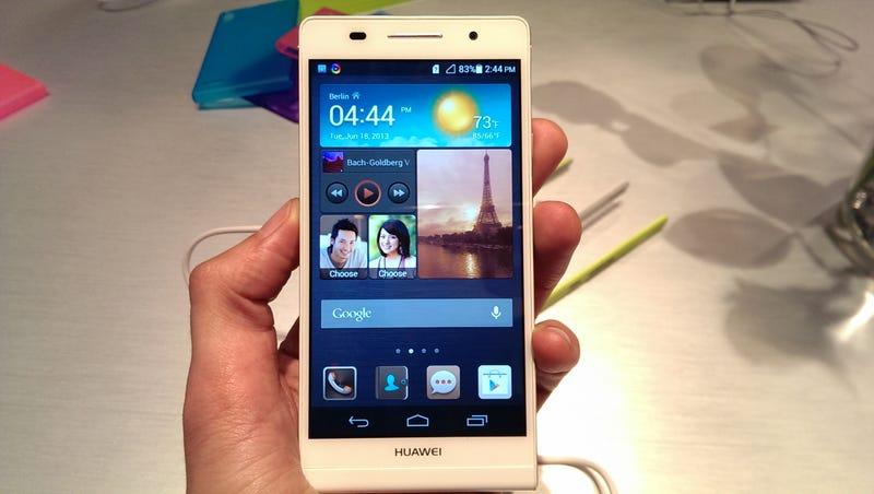 Illustration for article titled Probamos el Huawei Ascend P6: el tamaño no lo es todo