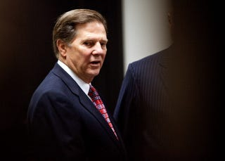 Former House Majority Leader Tom DeLay will serve three years in prison.