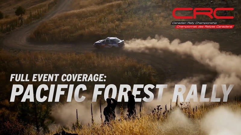 Illustration for article titled Pacific Forest Rally - Full TV Coverage