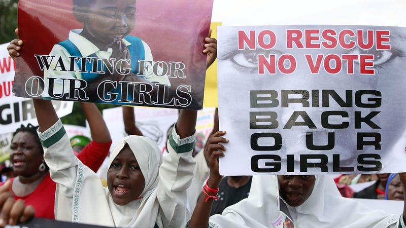 Illustration for article titled Terrorist Group Claims Kidnapping of 276 Missing Nigerian Girls