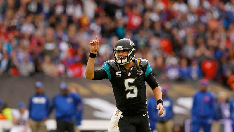 Jacksonville Jaguars quarterback Blake Bortles (Photo: Jacksonville Jaguars)