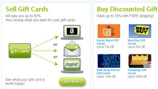 Illustration for article titled Plastic Jungle Exchanges Unwanted Gift Cards for Cash, Saves You Money with Discounts