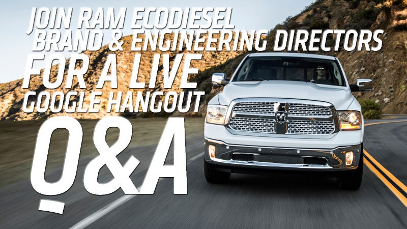 Illustration for article titled Answers To Your Burning Questions About The Ram 1500 EcoDiesel