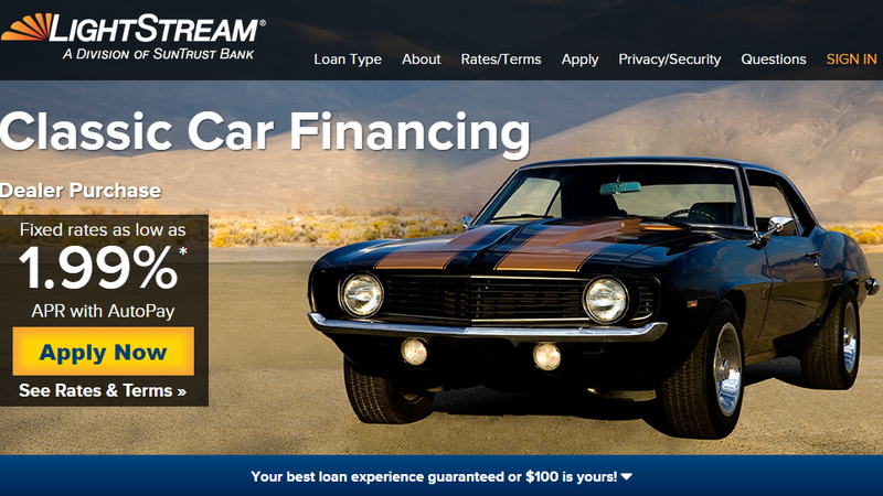 How To Get Loan Value On Classoc Car