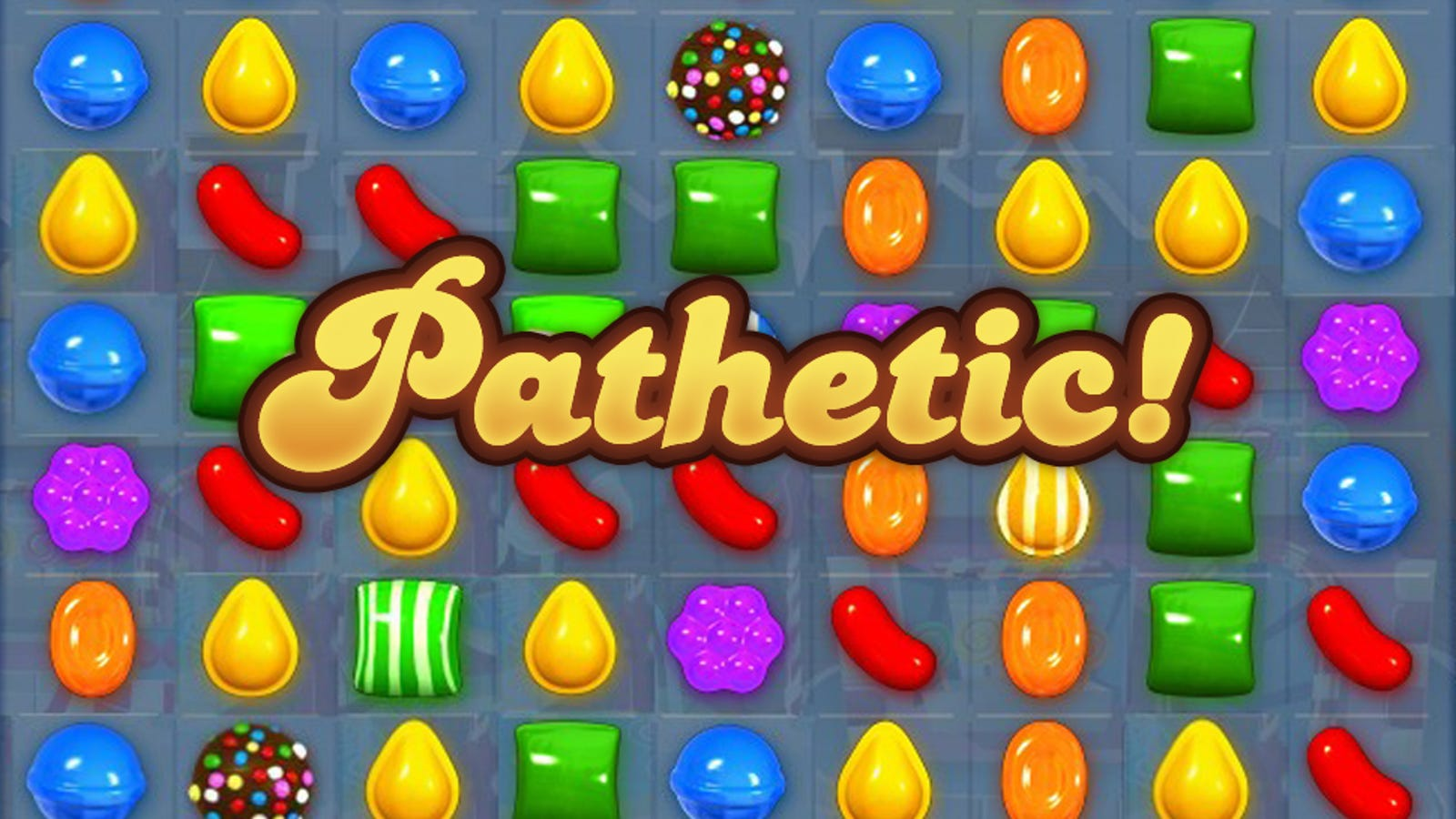 My year in candy crush - 1600 candy crush ...