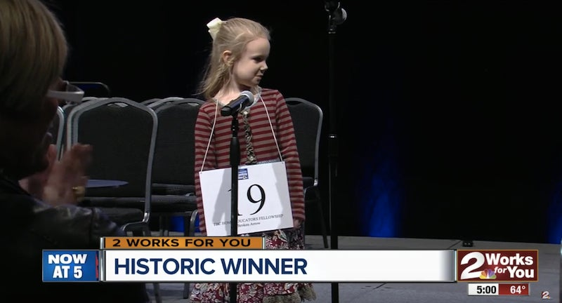 5-year-old is youngest to qualify in Scripps National Spelling Bee