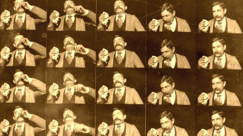 Stills from Edison Kinetoscopic Record Of A Sneeze (Photo: Wikimedia Commons)