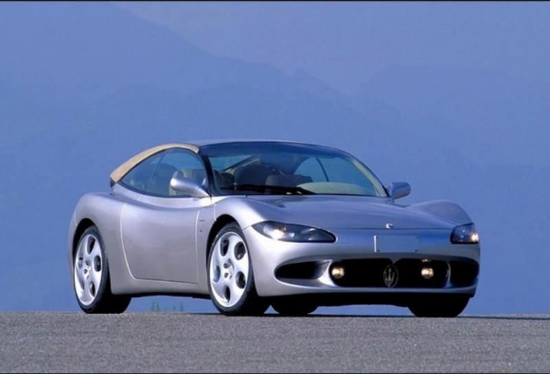 Illustration for article titled Maserati Auge concept c1995