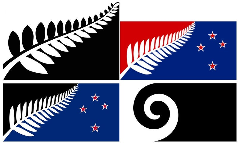 Illustration for article titled Which One of These Flags Should New Zealand Pick?