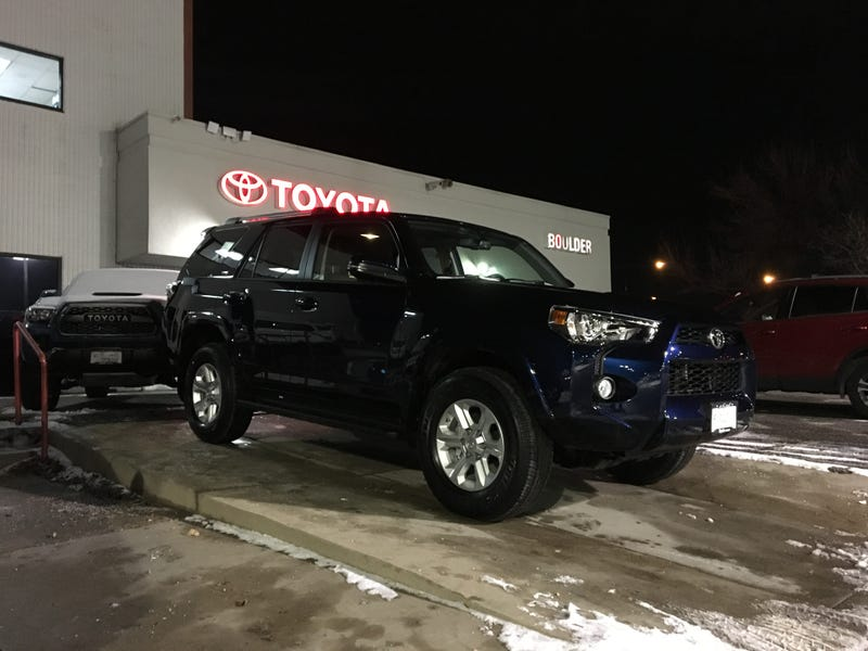 Illustration for article titled The least suspenseful car purchase, several of you were correct...meet my 2019 4Runner
