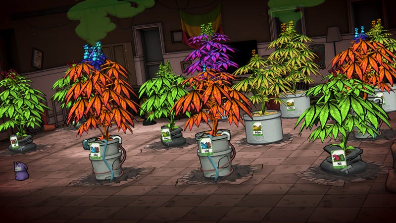 Illustration for article titled For A Game About Pot, Weedcraft, Inc. Sure Is Square