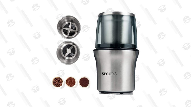 Secura Electric Coffee Grinder & Spice Grinder | $25 | Amazon