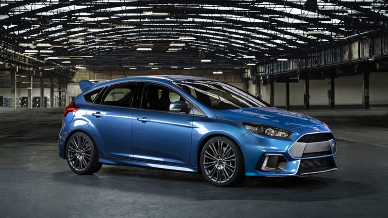 The Ford Focus RS Will Have 350 Horsepower, 350 Pound-Feet Of Torque