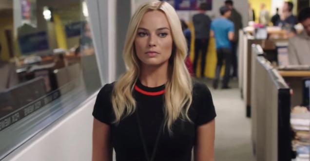 Margot Robbie takes on the Fox News scandal in a tense Bombshell teaser