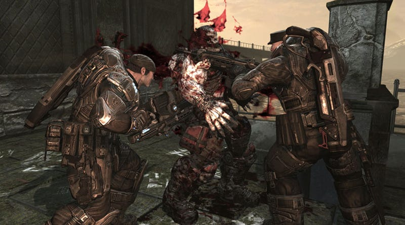 Illustration for article titled Gears Of War 2: Patched