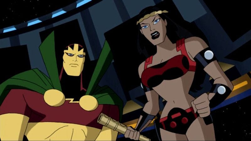 """Illustration for article titled Justice League Unlimited: """"The Ties That Bind"""""""