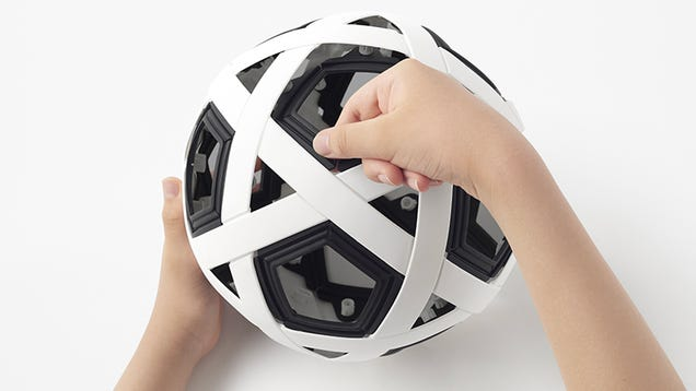 Nendo Has Made a Soccer Ball You Never Need to Inflate