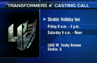 Illustration for article titled Chicago casting call for Transformers 4