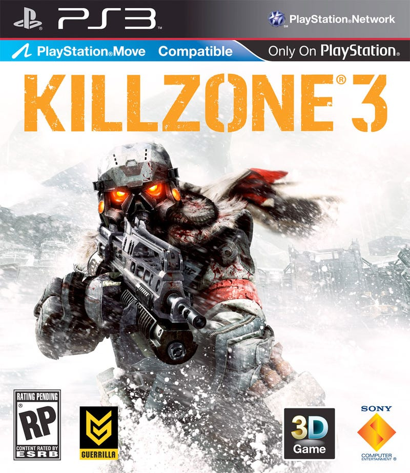 Illustration for article titled Killzone 3 Box Art Does Battle With Snow, Logos