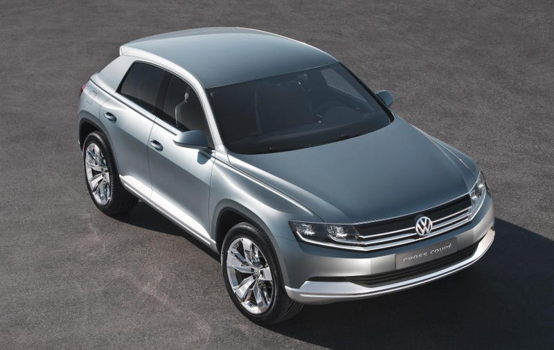 Illustration for article titled VW Cross Coupe Gallery