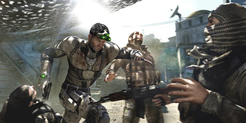 Illustration for article titled Splinter Cell: Blacklist Won't Feature Offline Co-Op Play on Wii U