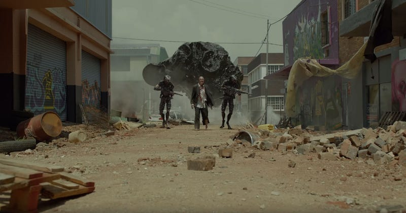 Neill Blomkamp unveils dystopian teaser for Oats Studios short films
