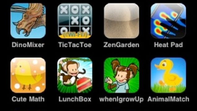 Ipod games for kids