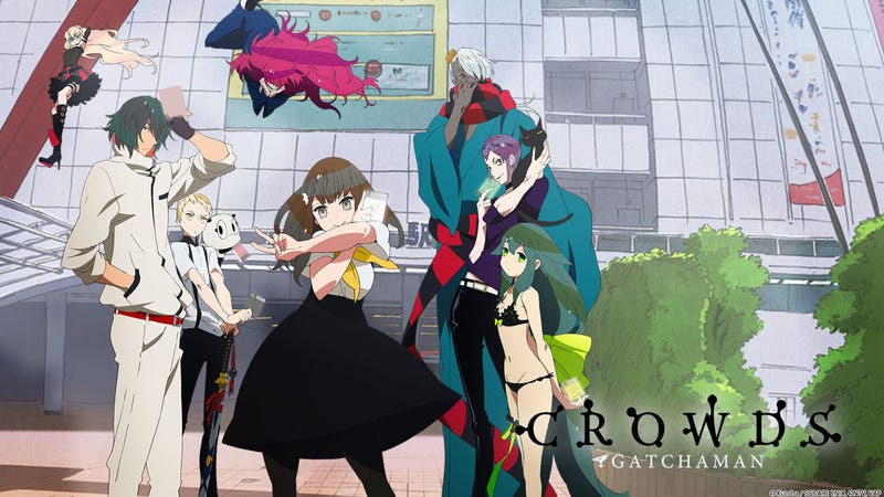 Illustration for article titled Ani-Tay: Gatchaman Crowds Impression