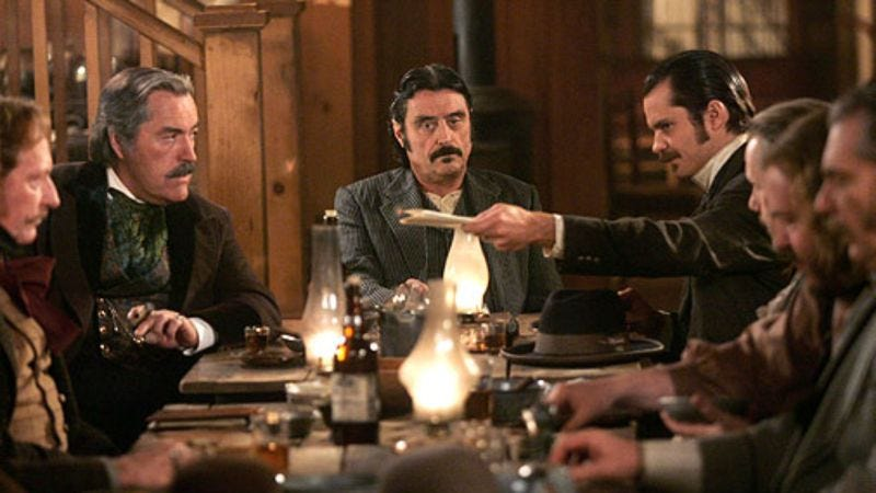 Illustration for article titled HBO says Deadwood movie is in early talks