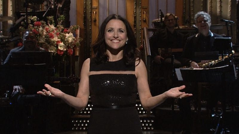 Illustration for article titled Julia Louis-Dreyfus is the president of Saturday Night Live