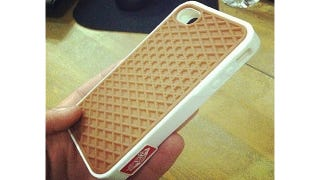 Illustration for article titled I Need This Vans Waffle Sole iPhone Case To Be Real
