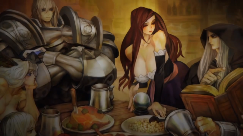 Illustration for article titled The Artist Behind Dragon's Crown Explains His Exaggerated Characters
