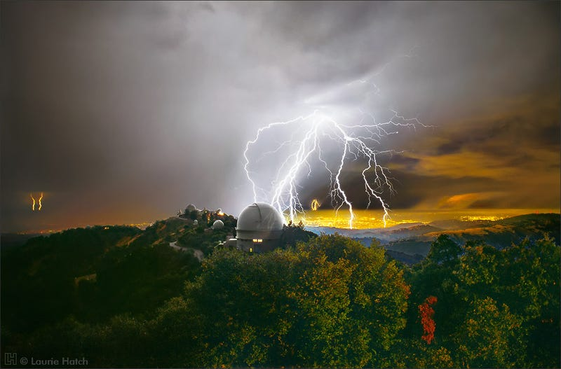 Illustration for article titled Stunning photos of Lick Observatory by Laurie Hatch