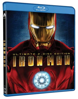 Illustration for article titled Iron Man Blu-ray Packs a Stark-Worthy Arsenal of Bonus Features