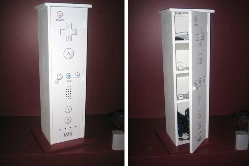 Illustration for article titled Wiimote Cabinet: I Want One