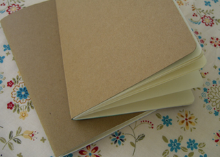 Diy cereal box journal looks great costs little craft weblog the long thread walks through how to make your own attractive customizable diy notebooks from used cereal boxes ccuart